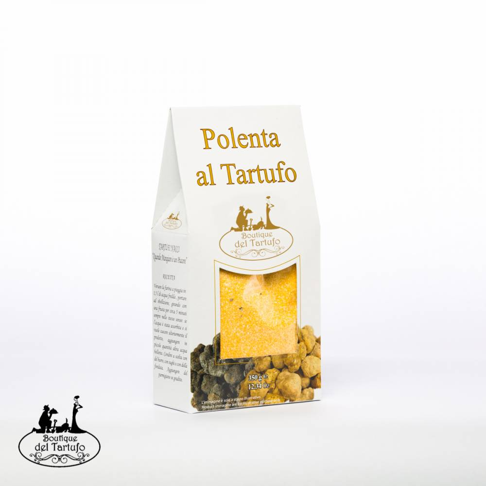 polenta al tartufo boutique del tartufo
